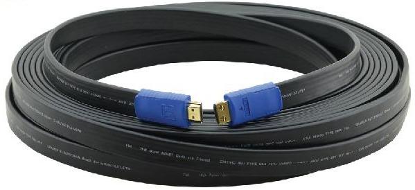 Кабель HDMI плоский c Ethernet
