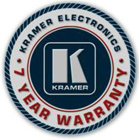 7 лет гарантии на приборы Kramer Electronics